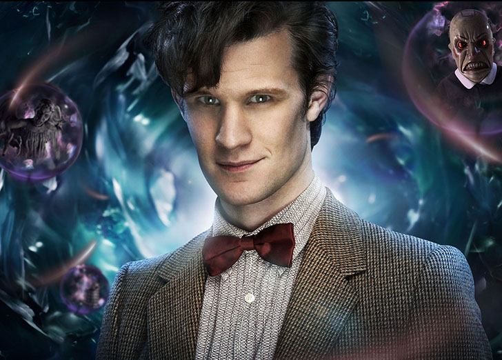 **THIS IMAGE IS UNDER EMBARGO UNTIL FRIDAY 19TH MARCH 2010** Picture shows: The Doctor (MATT SMITH) TX: BBC ONE Saturday 3rd April 2010